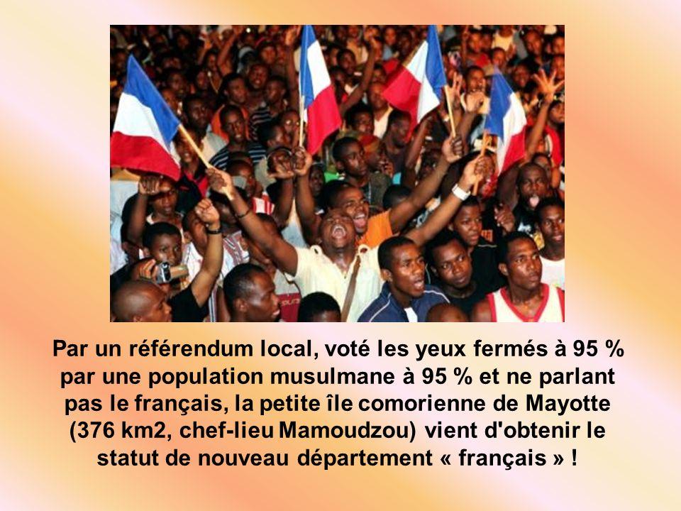 Mayotte: nouveau département polygame et musulman à 95%