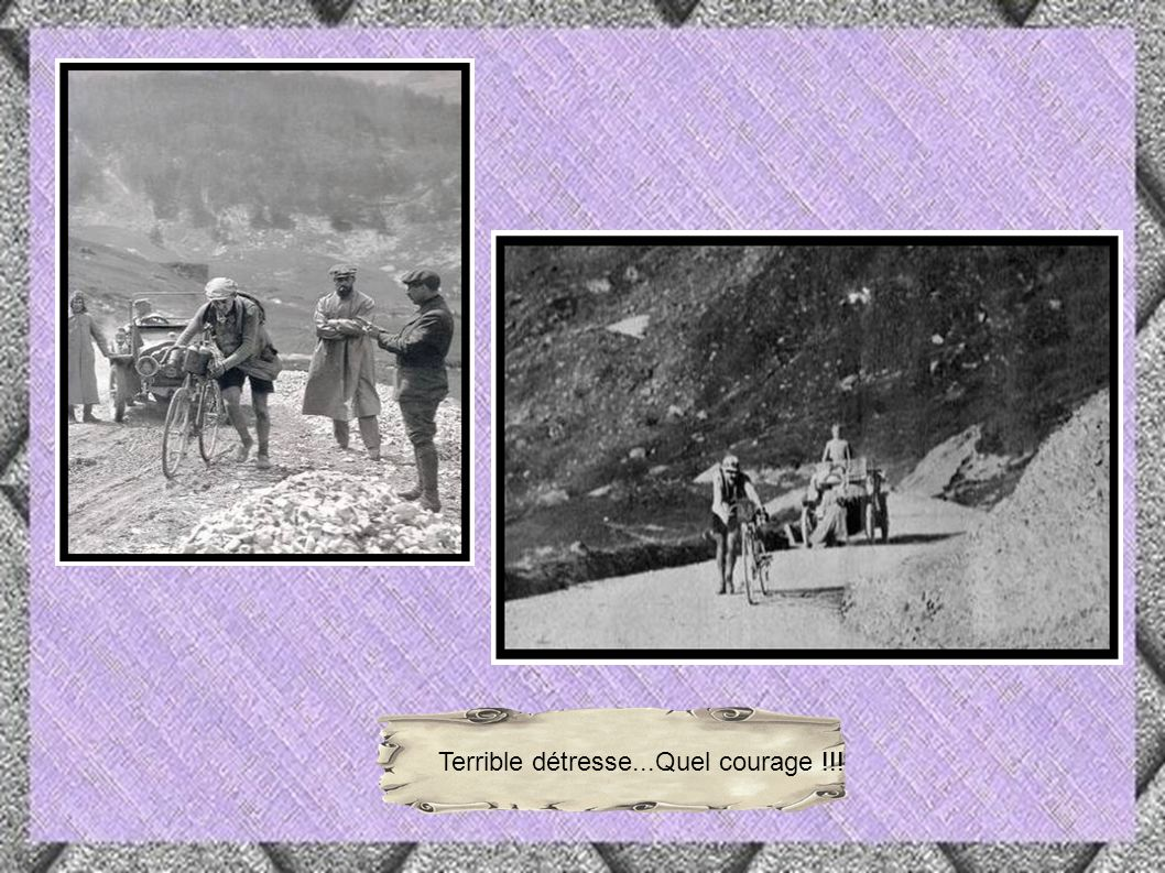 Gustave Garrigou (1884-1963) sera le premier coureur à franchir le Tourmalet, sans poser pied à terre.