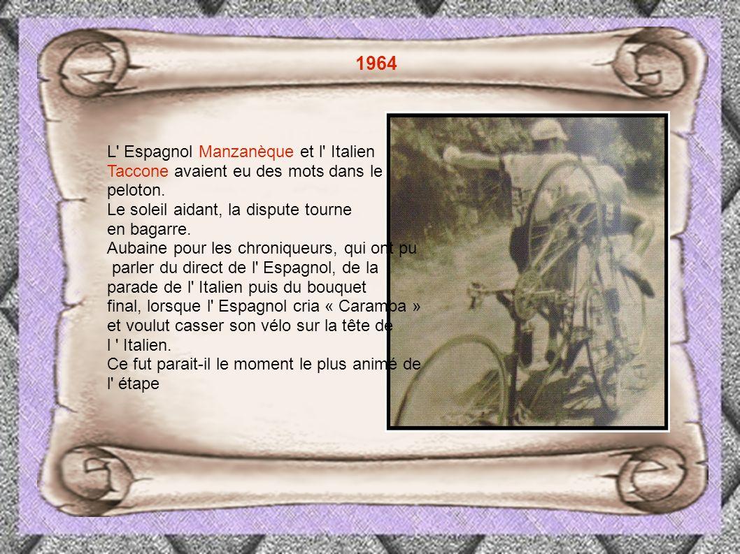Il faut également évoquer l incroyable échappée (135km) et la victoire de Koblet Dans la 11eme étape de 1951.