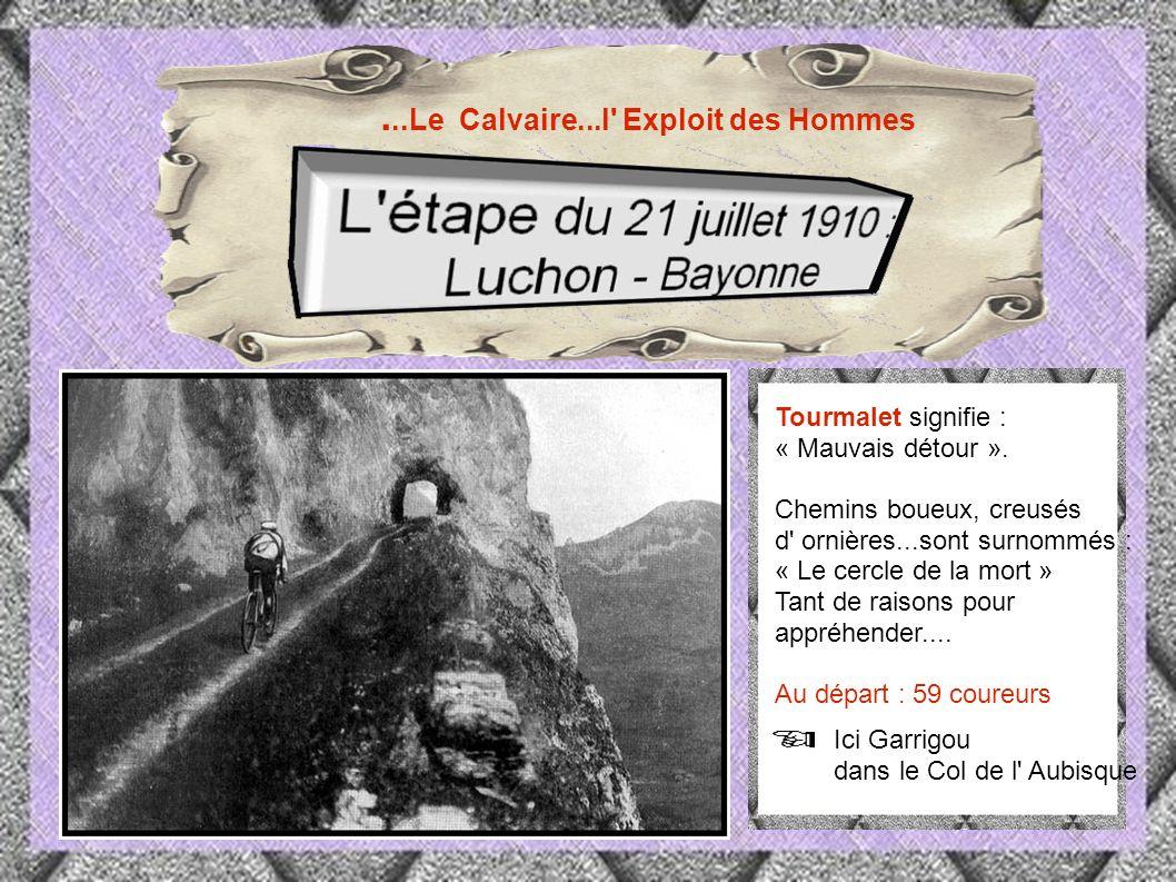 1910 Les Pyrénées entrent dans le Tour avec le Tourmalet.