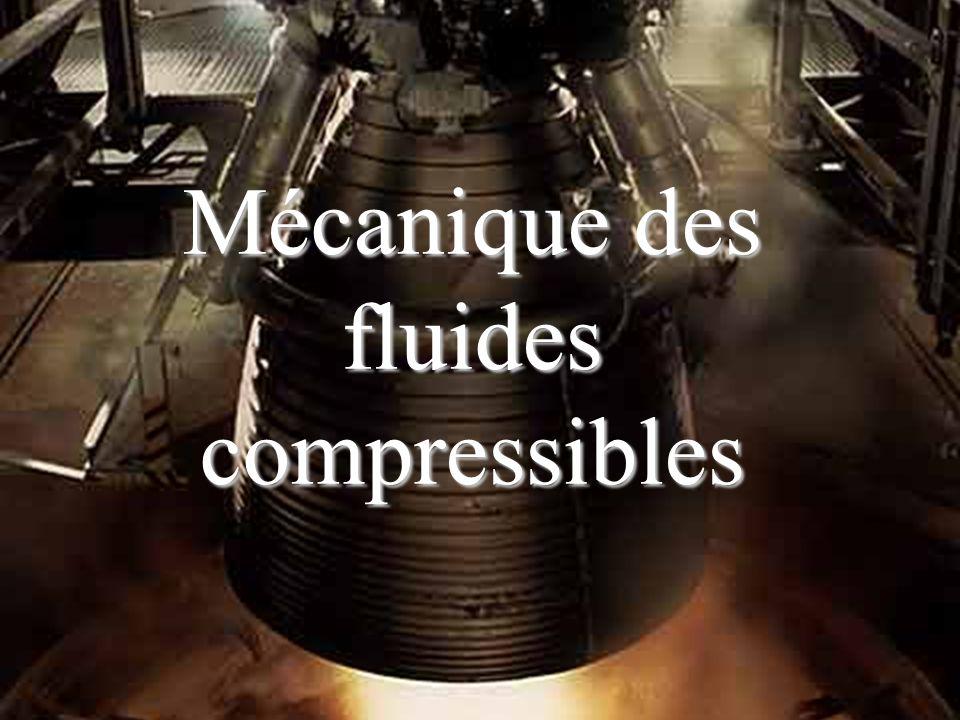 Mécanique des fluides compressibles