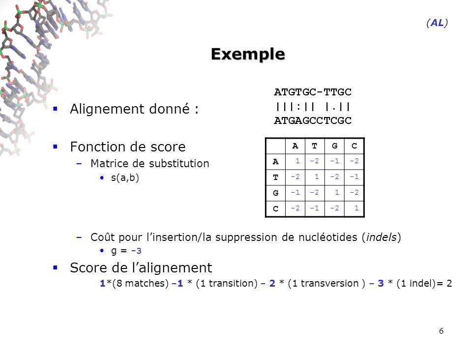 17 Exemple Sur le problème (m=18,k=3) ###-## (PMA)