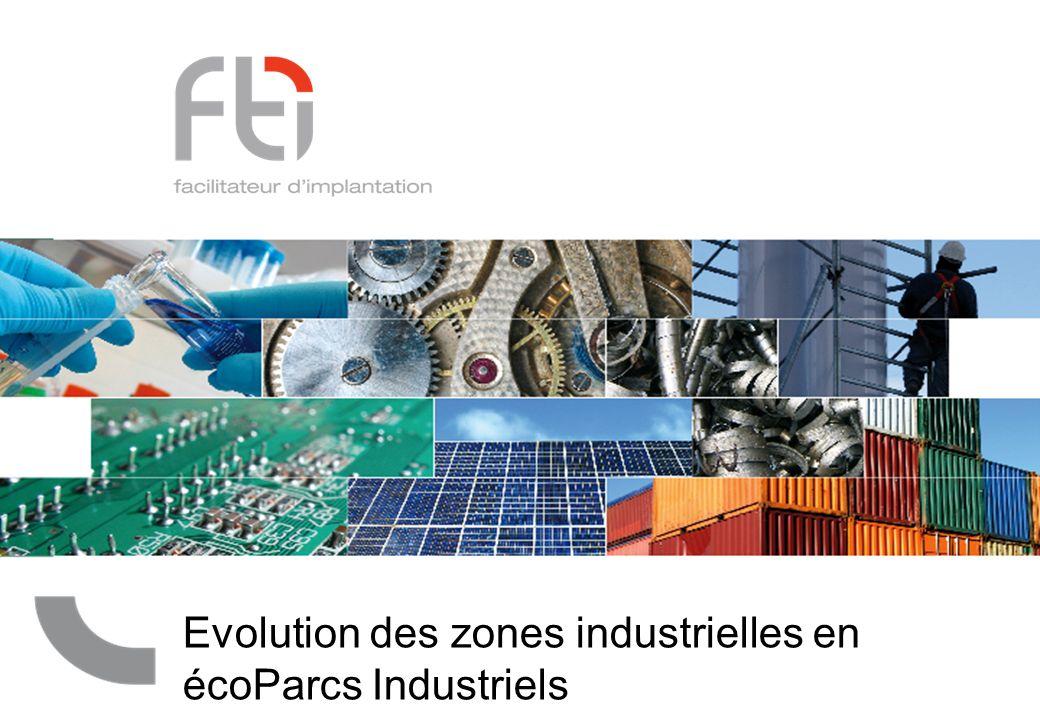 Evolution des zones industrielles en écoParcs Industriels