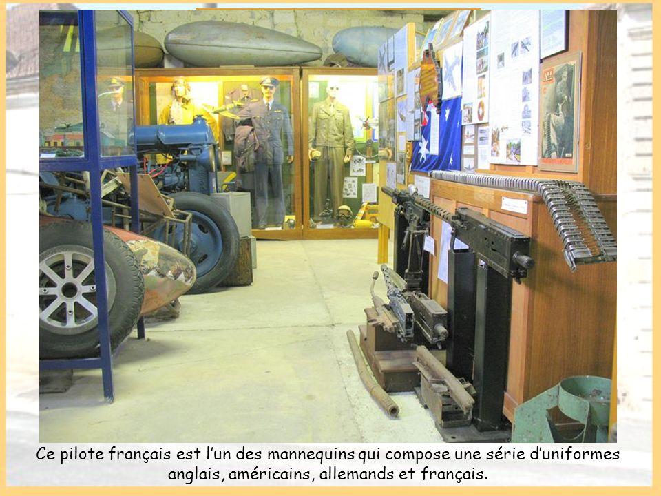 Cette partie du musée retrace la période 1940-1945 relative à lhistoire du terrain et à celle de la guerre aérienne dans notre région.