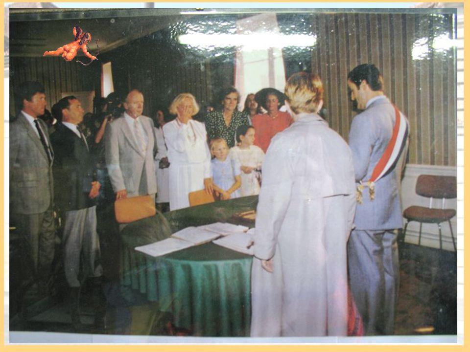 Gabriel les maria en 1987…