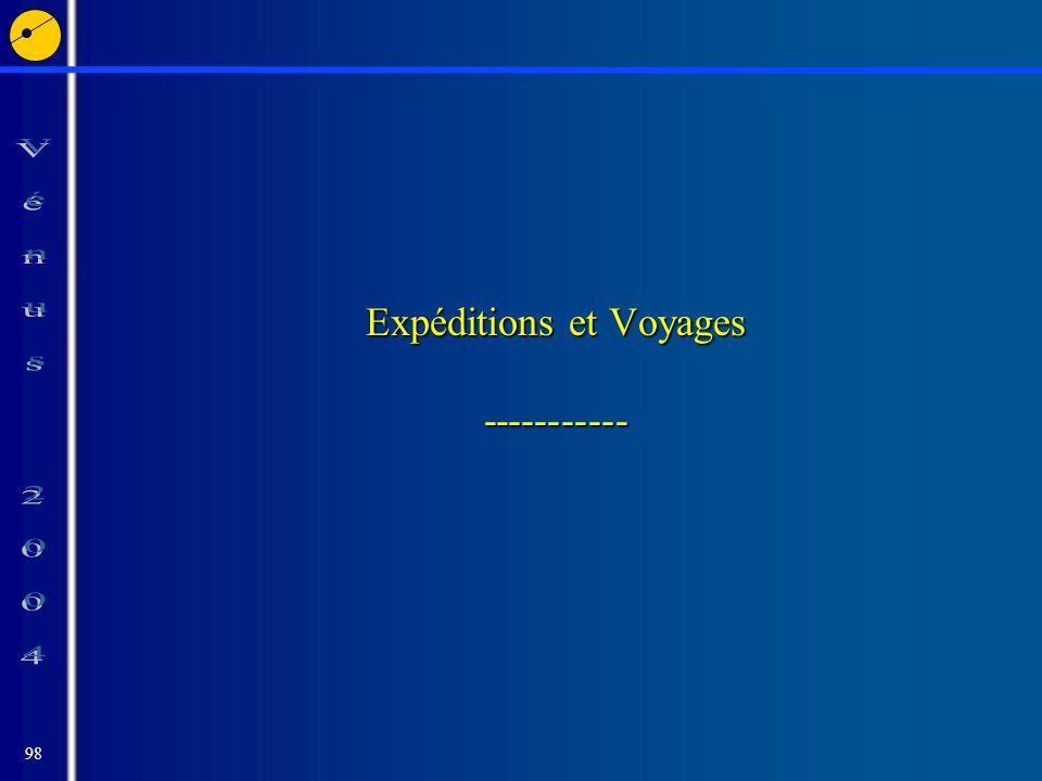 98 Expéditions et Voyages -----------