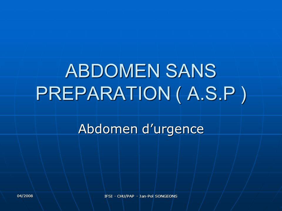 04/2008 IFSI - CHU/PAP - Jan-Pol SONGEONS Introduction Les progrès constants accomplis en radiologie digestives ont sans cesse élargi le champ du possible.