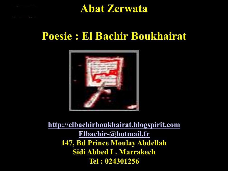 El Bachir BouKhairat 2008 Elbachir-b@hotmail.fr