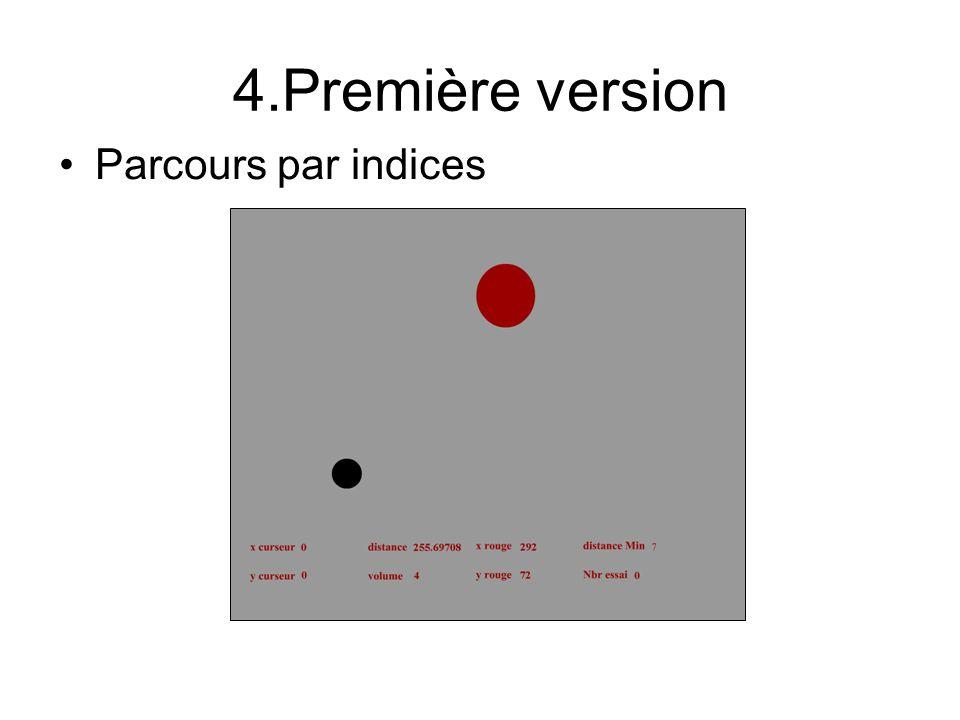 4.Première version Parcours par indices