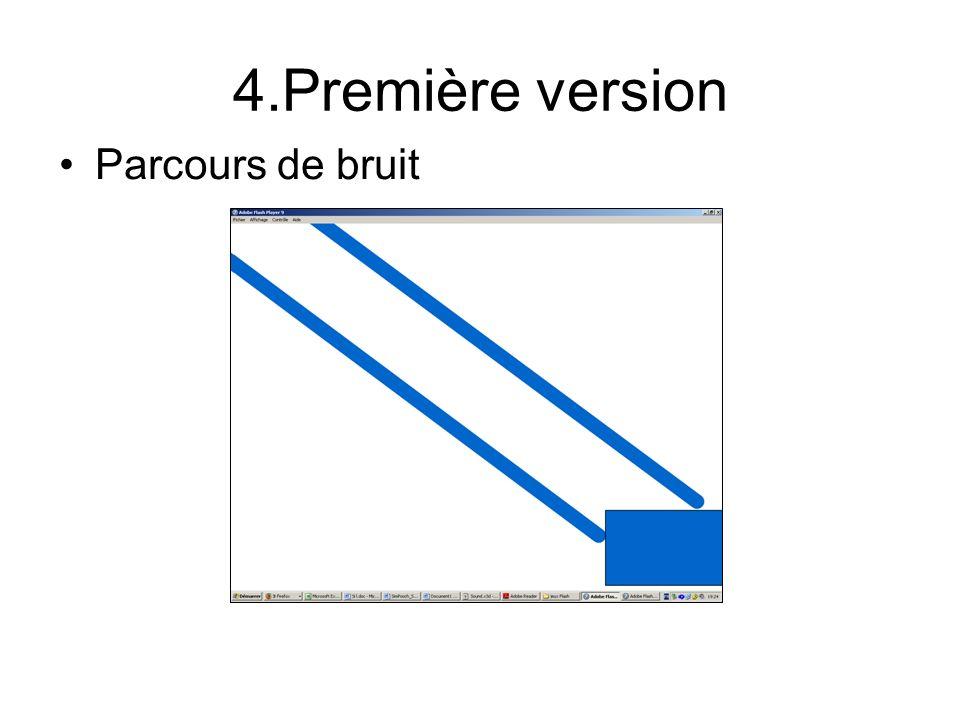 4.Première version Parcours de bruit