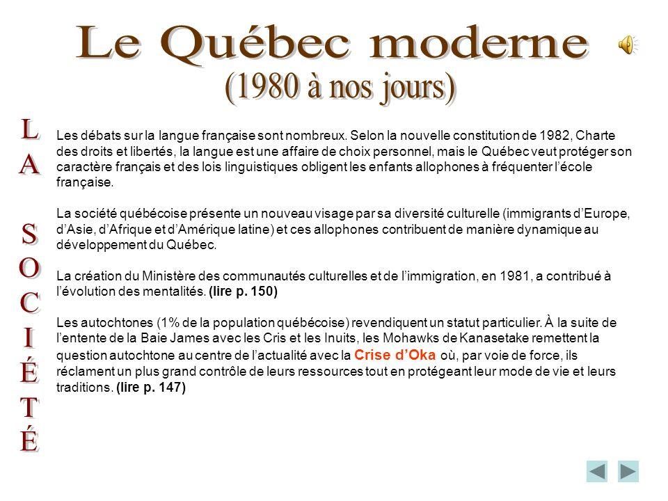 Malgré les conférences constitutionnelles ayant pour but la réintégration du Québec dans la nouvelle constitution, rien ne sera réglé. Léchec de Meech
