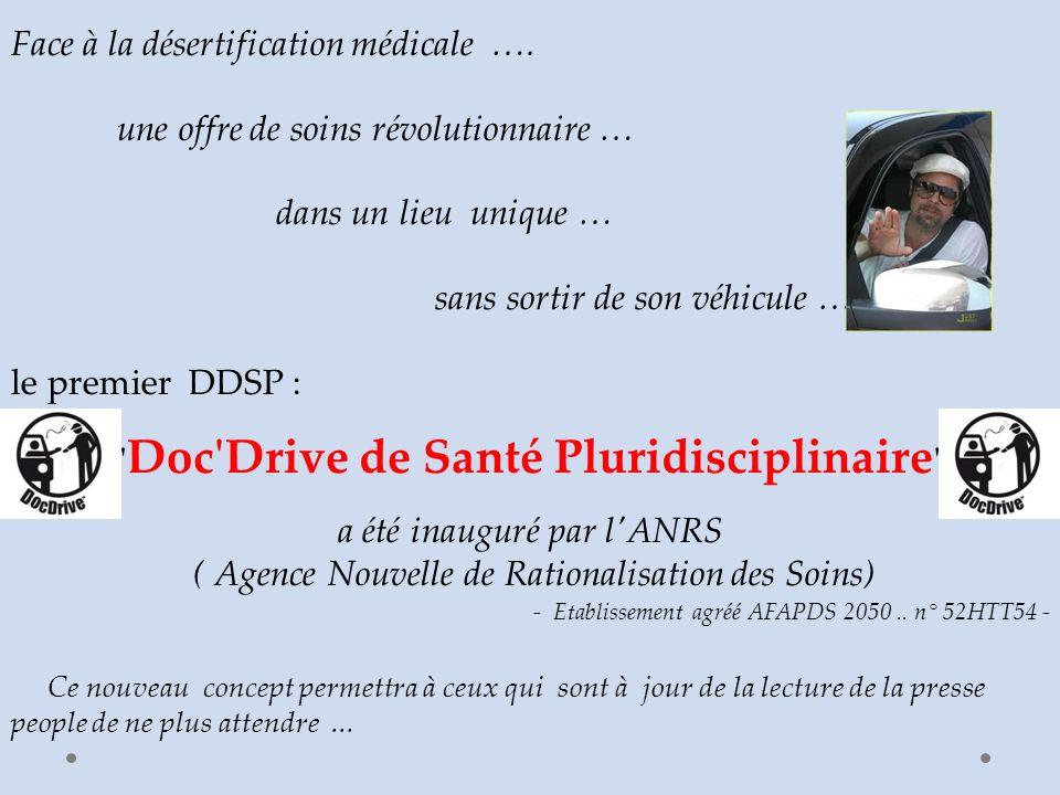 Face à la désertification médicale ….