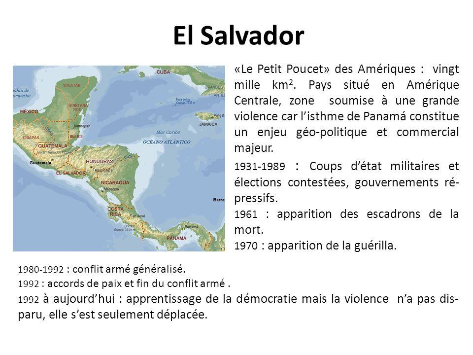 El Salvador «Le Petit Poucet» des Amériques : vingt mille km 2.