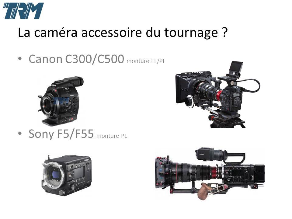 La caméra accessoire du tournage Canon C300/C500 monture EF/PL Sony F5/F55 monture PL