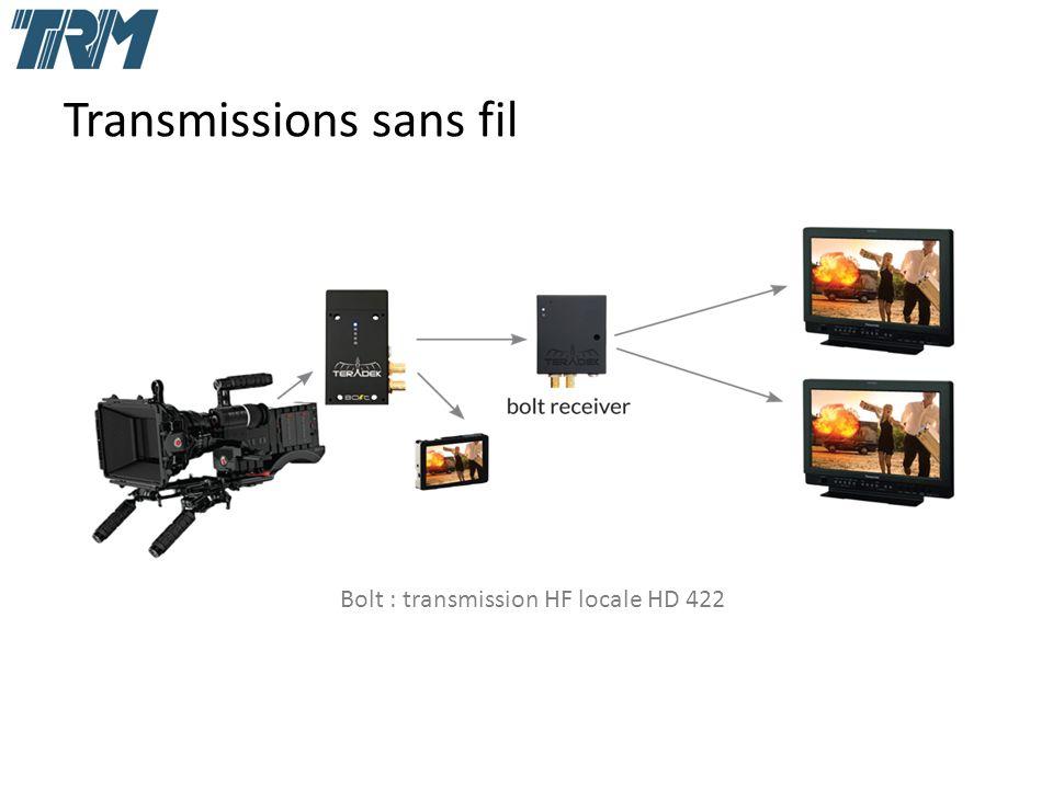 Transmissions sans fil Bolt : transmission HF locale HD 422