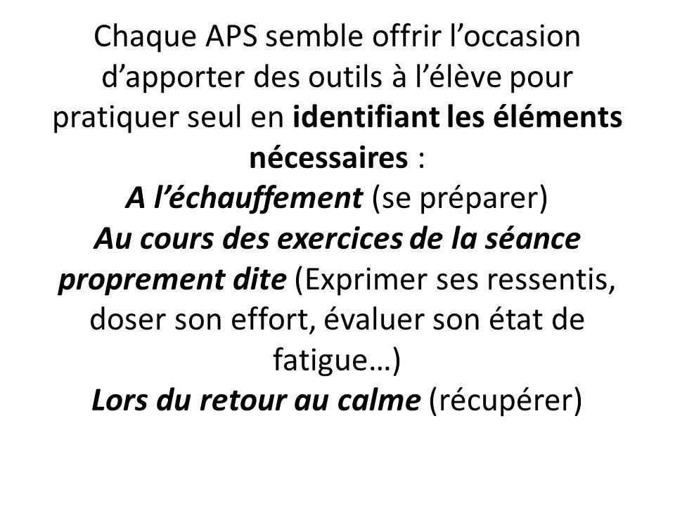 OBSTACLES … On reconnait que la CP 5 (anciennement CC 5) en sappuyant sur les activités musculation, step, course de durée et natation en durée, inscrivent les élèves dans une démarche plus authentique que les autres CP.