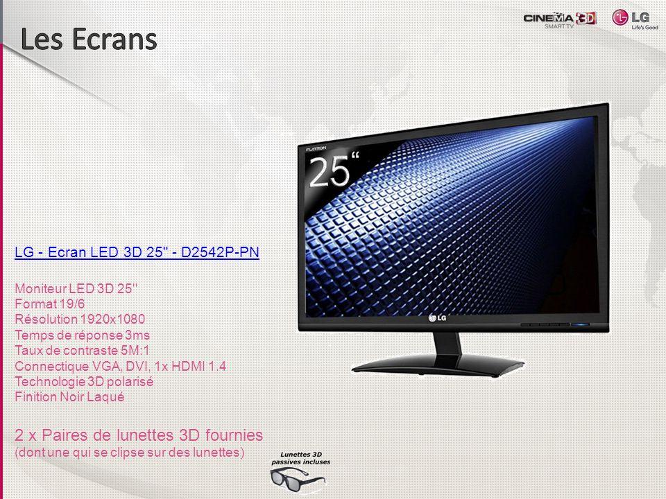 LG - Ecran LED 3D 25