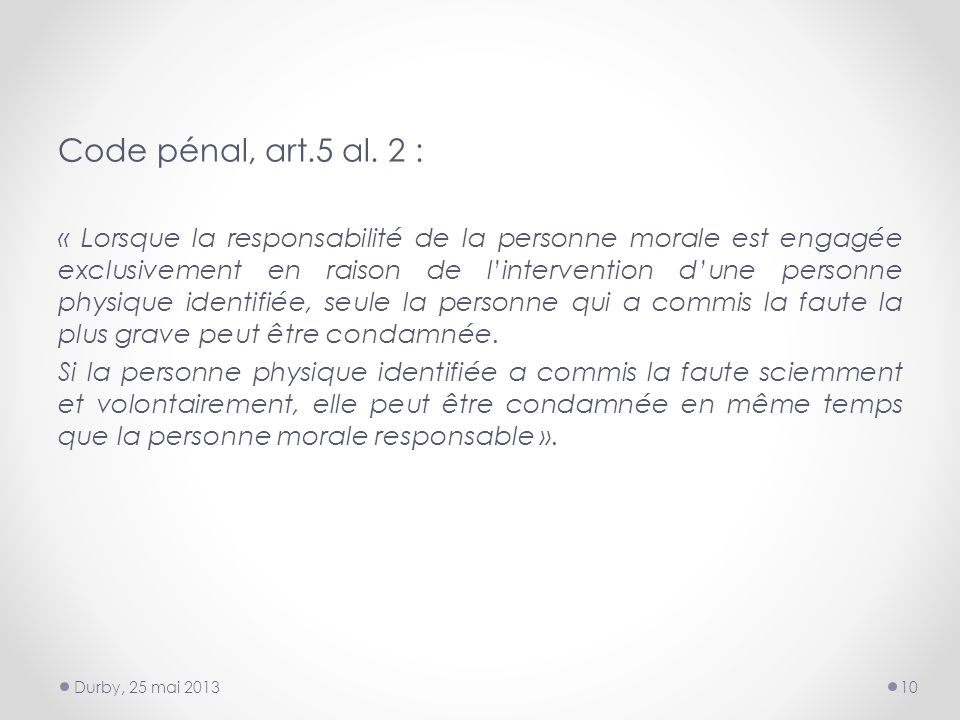 Code pénal, art.5 al.