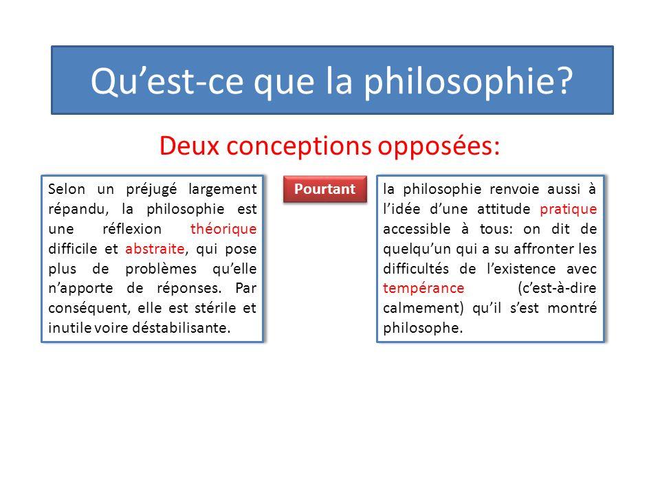 Quest-ce que la philosophie.