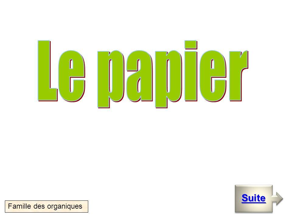 Le papier Suite Famille des organiques