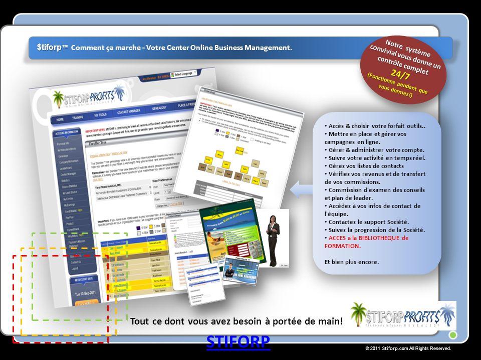 © 2011 Stiforp.com All Rights Reserved. Tout ce dont vous avez besoin à portée de main.