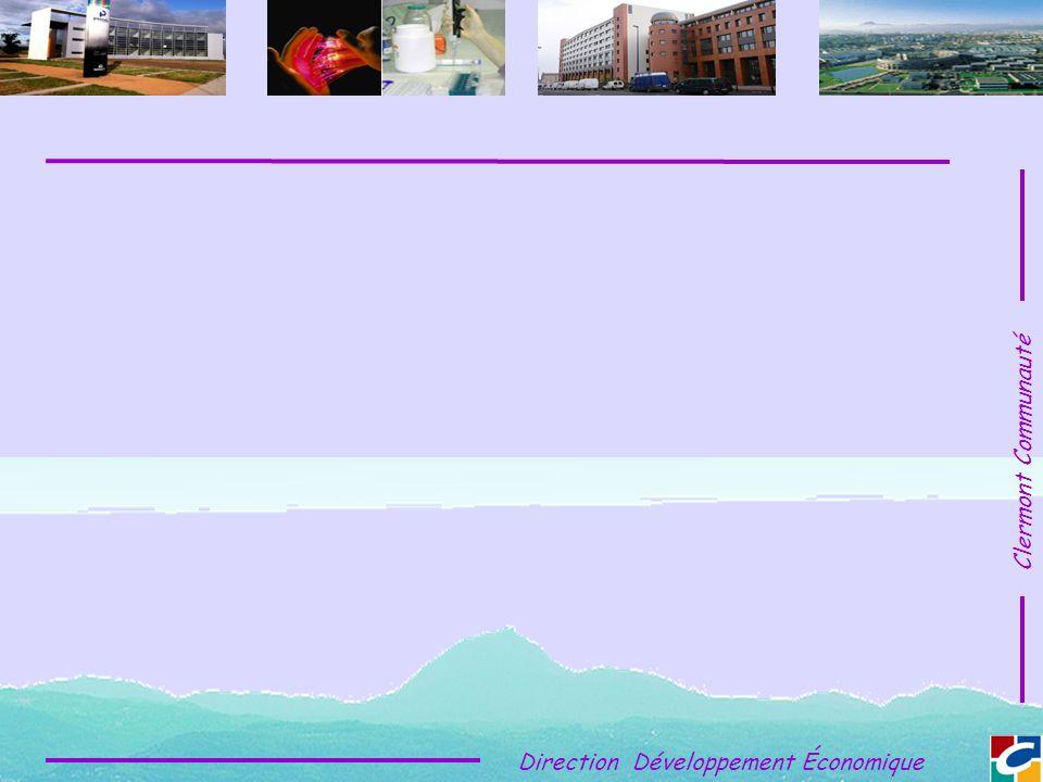 Clermont Communauté Direction Développement Économique