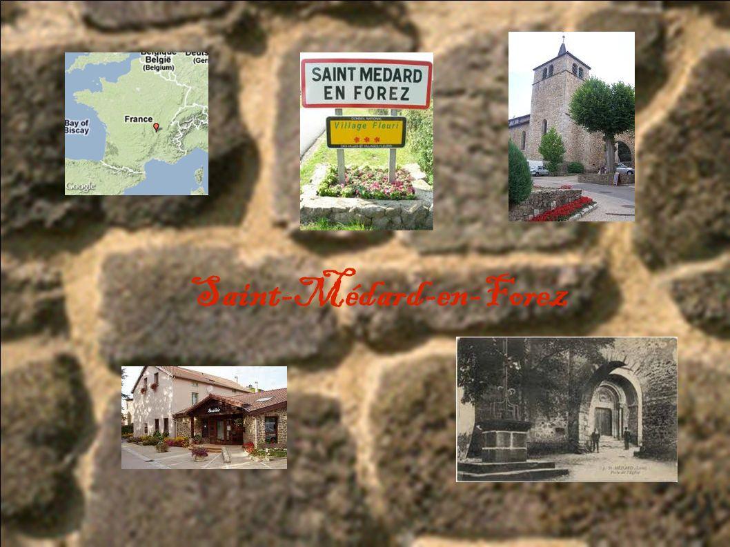 J ai choisi ce sujet car St Médard est le village où je suis né et où j habite encore.