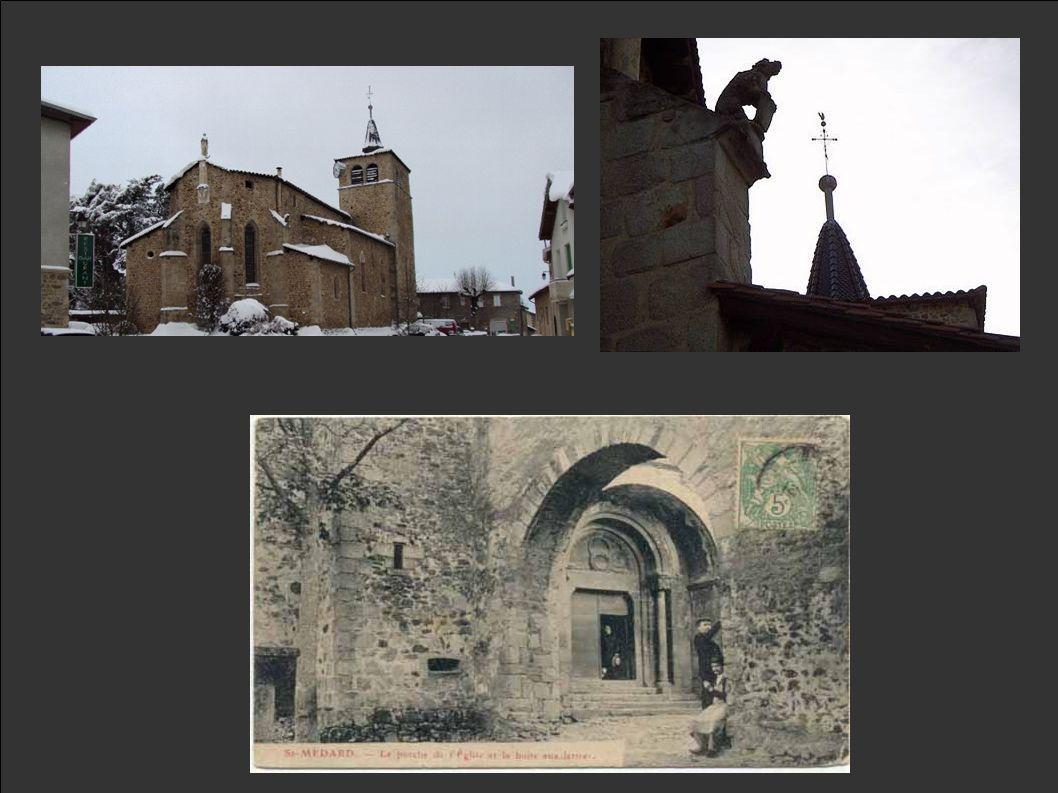 L'église Le prieuré comprenait une église romane dont il ne subsiste dans l'église qu'un magnifique porche extérieur (à l'ouest) du XIème siècle encad