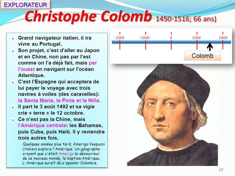 Charlemagne (747-814; 67 ans) 16 Il est roi de la France de 768 jusquà sa mort en 814.