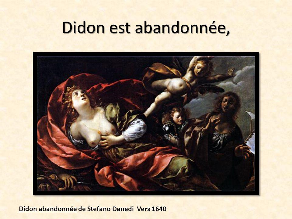 Enée, rappelé par les Dieux, quitte Carthage et Didon. Ladieu DEnée à Didon Guido Réni 1630