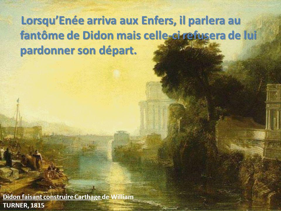 Didon et Enée aux enfers « Infelix Dido, verus mihi nuntius ergo venerat exstinctam ferroque extrema secutam.