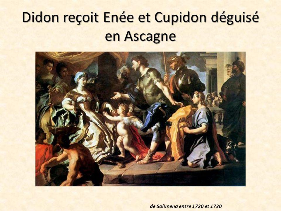 Enée apparait à Didon L apparition d Énée à Didon Peinture murale 1532 - 1536 de Bonaccorsi