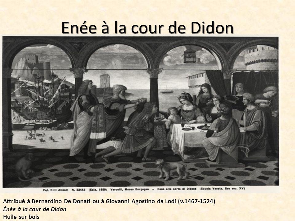 Didon reçoit Enée et Cupidon déguisé en Ascagne de Solimena entre 1720 et 1730