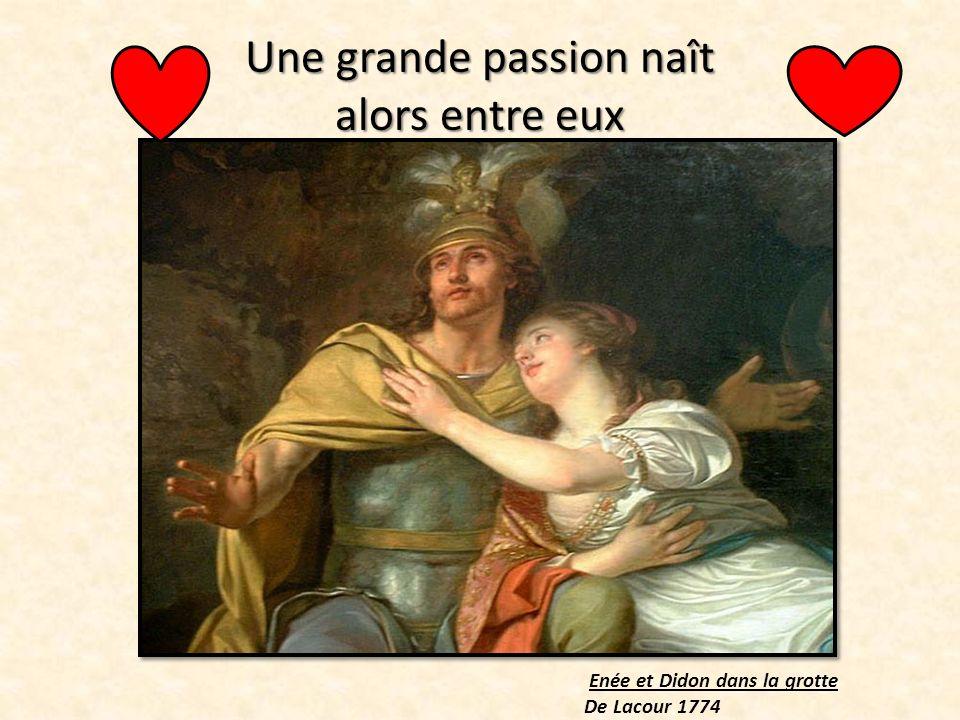Énée racontant à Didon les malheurs de la ville de Troie Pierre-Narcisse Guérin 1815