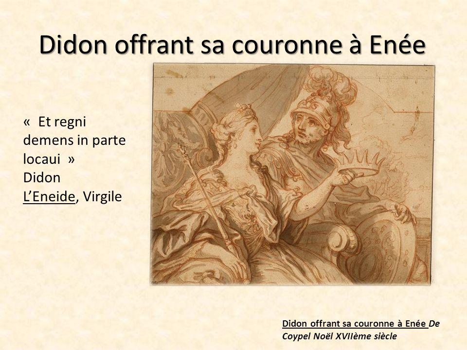 Une grande passion naît alors entre eux Enée et Didon dans la grotte De Lacour 1774