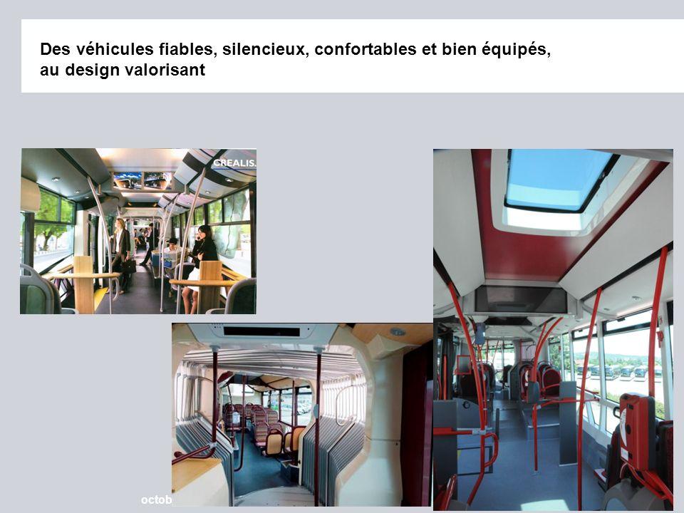 Page 13 octobre 2012 © IRISBIS IVECO, SAFEGE, SIEMENS SAS Des véhicules fiables, silencieux, confortables et bien équipés, au design valorisant