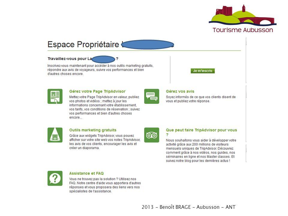 2013 - Benoît BRAGE - Aubusson - ANT