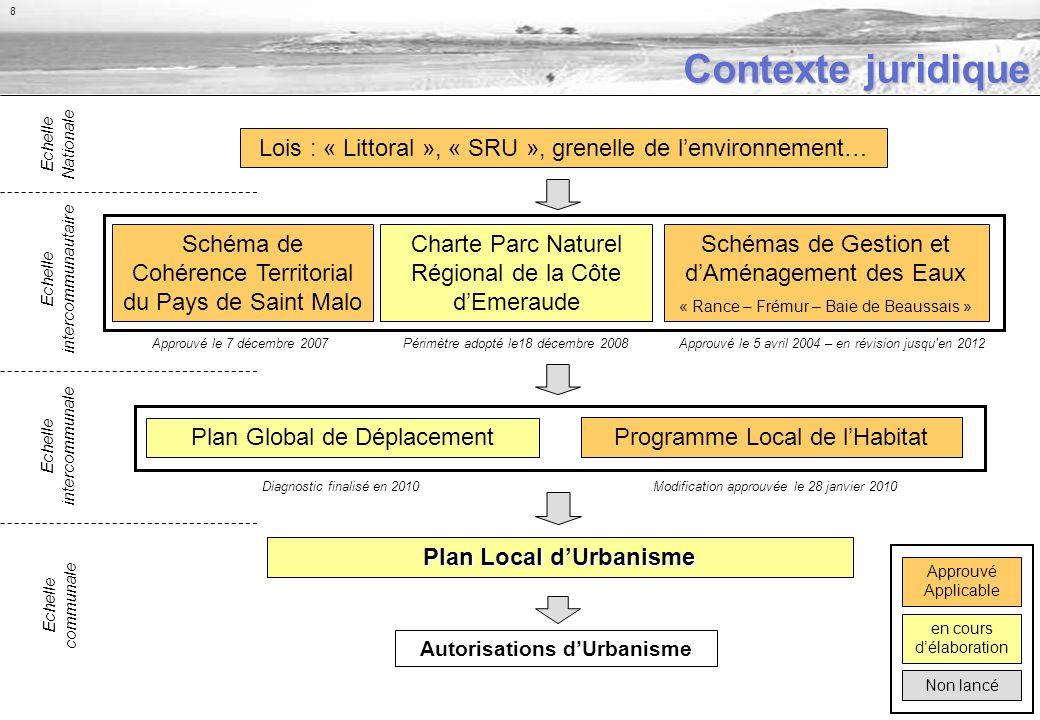 Analyse urbaine - Lensemble bâti dense - Lensemble bâti de Saint-Briac est important et assez dense.