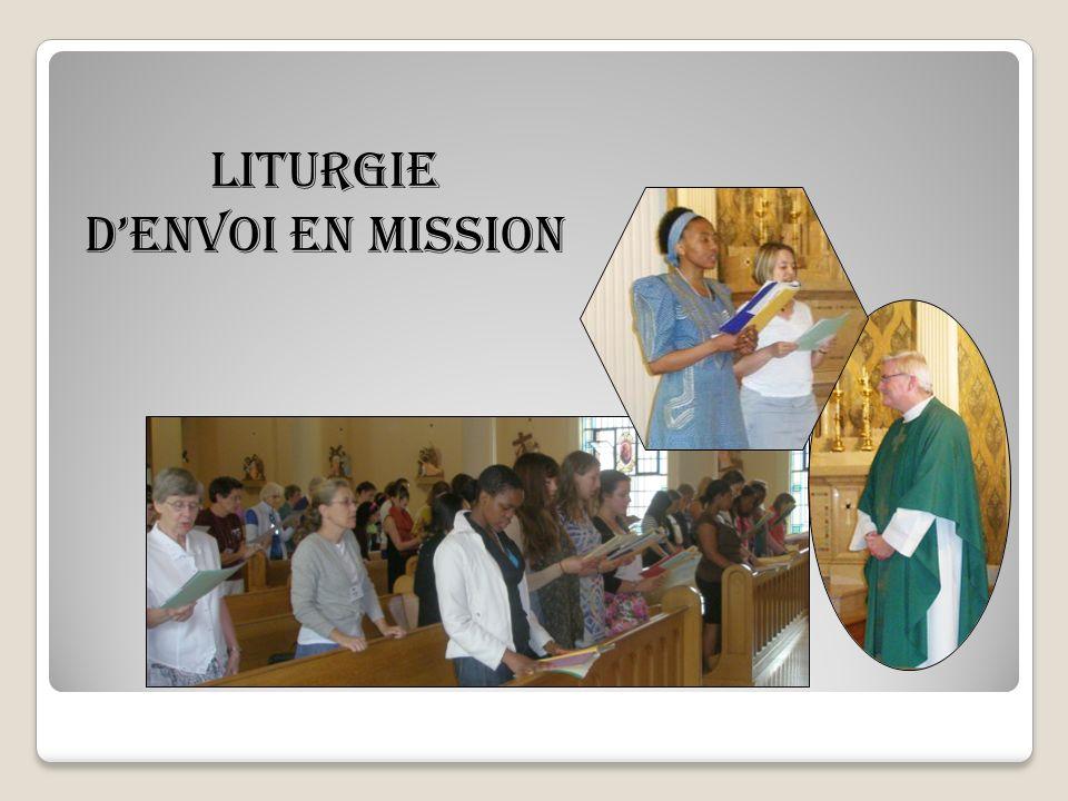 Liturgie denvoi en mission