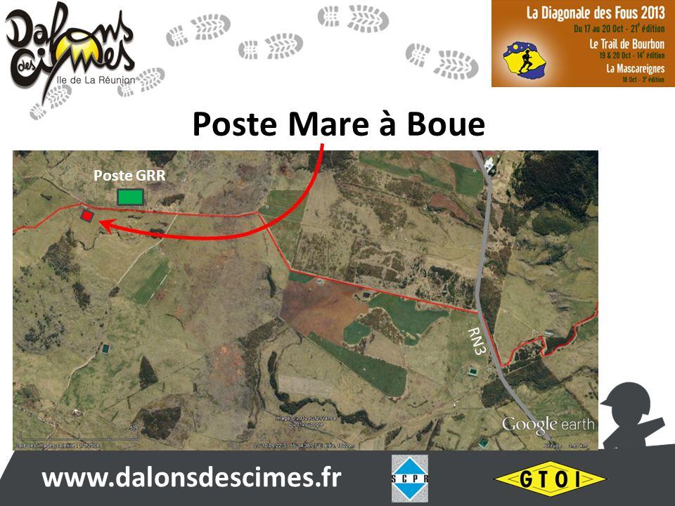 www.dalonsdescimes.fr Poste Mare à Boue Poste GRR RN3