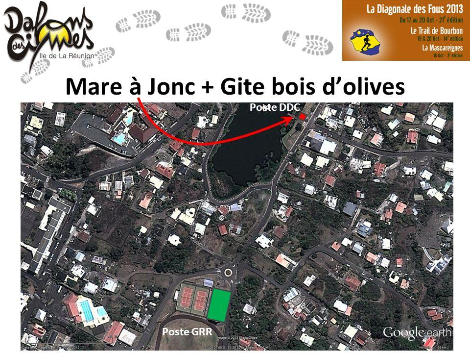 www.dalonsdescimes.fr Mare à Jonc + Gite bois dolives Poste GRR Poste DDC