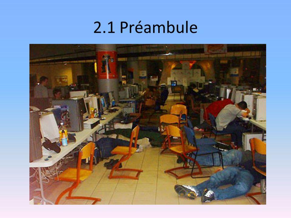 2.1 Préambule