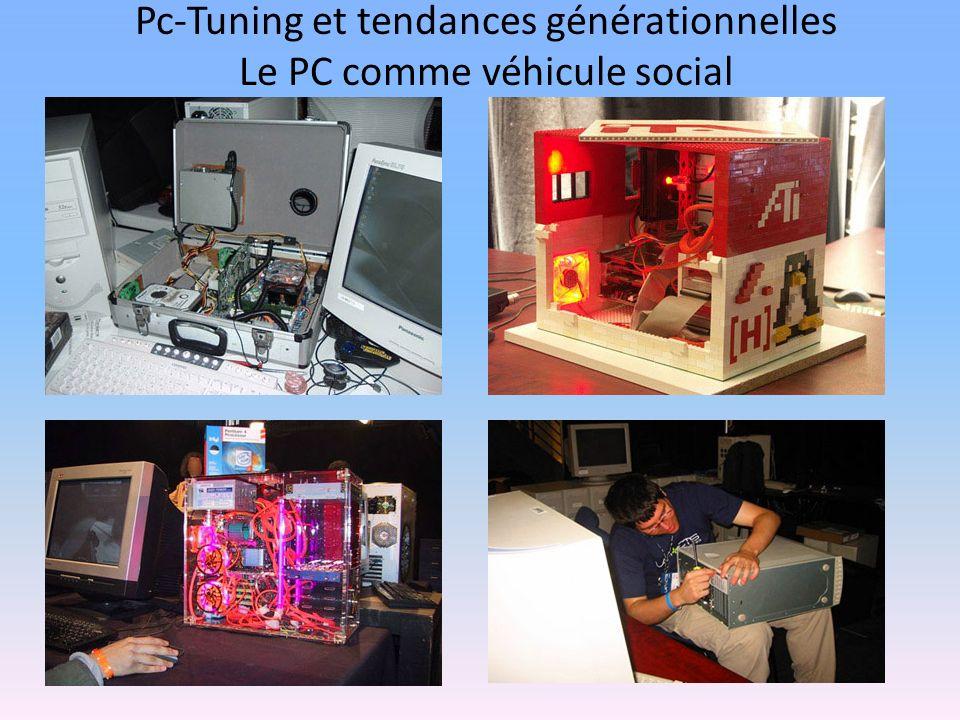 Pc-Tuning et tendances générationnelles Le PC comme véhicule social