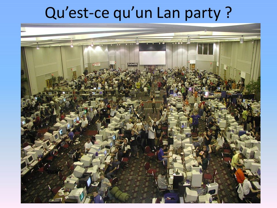 Quest-ce quun Lan party