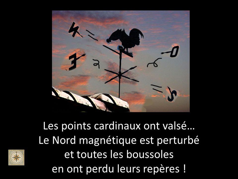 La girouette de St Pierre na pas résisté…