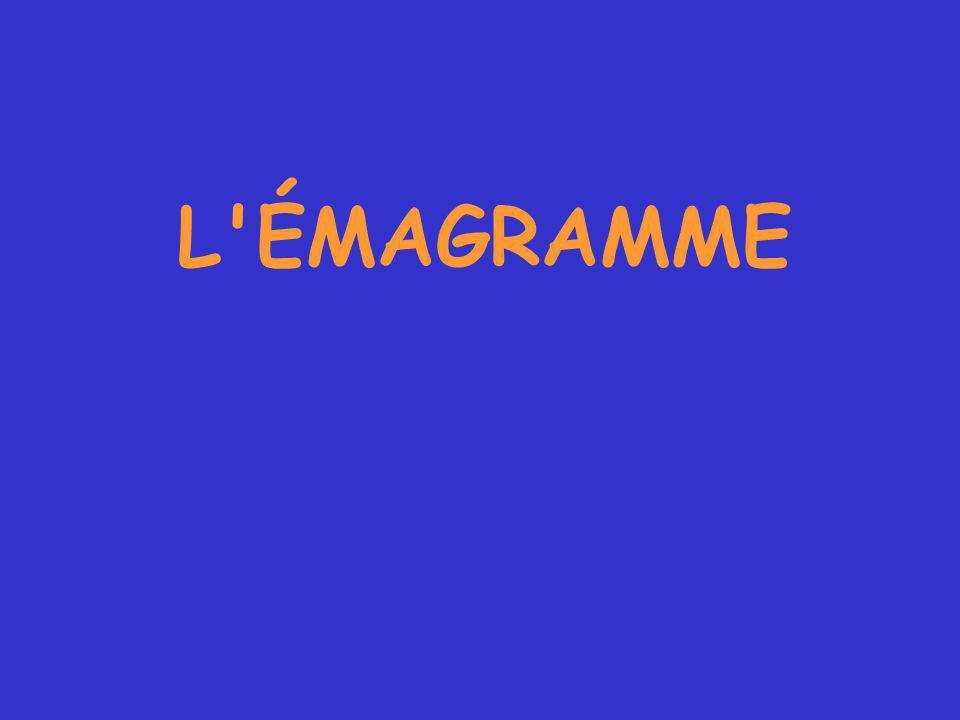 L ÉMAGRAMME