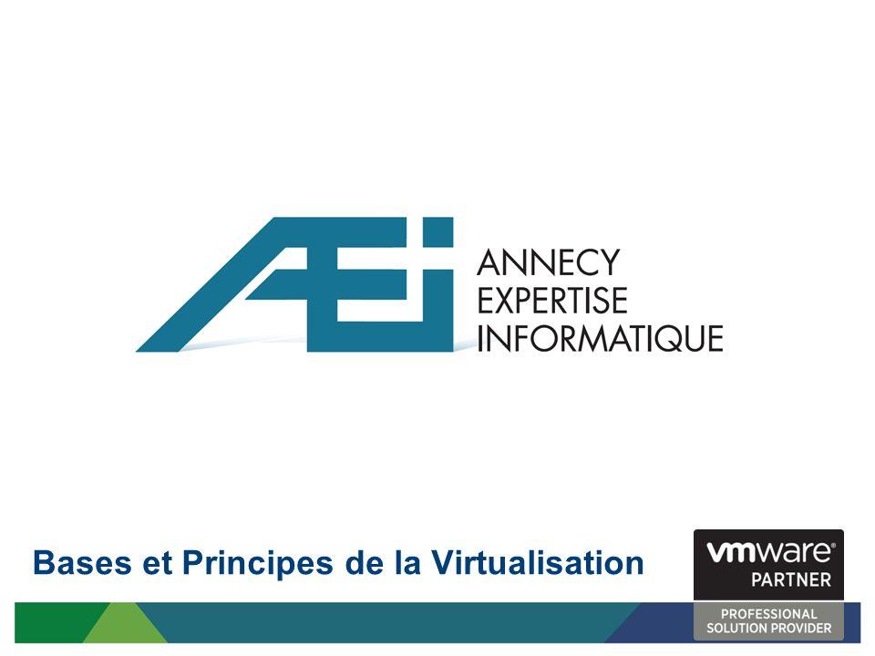 Bases et Principes de la Virtualisation