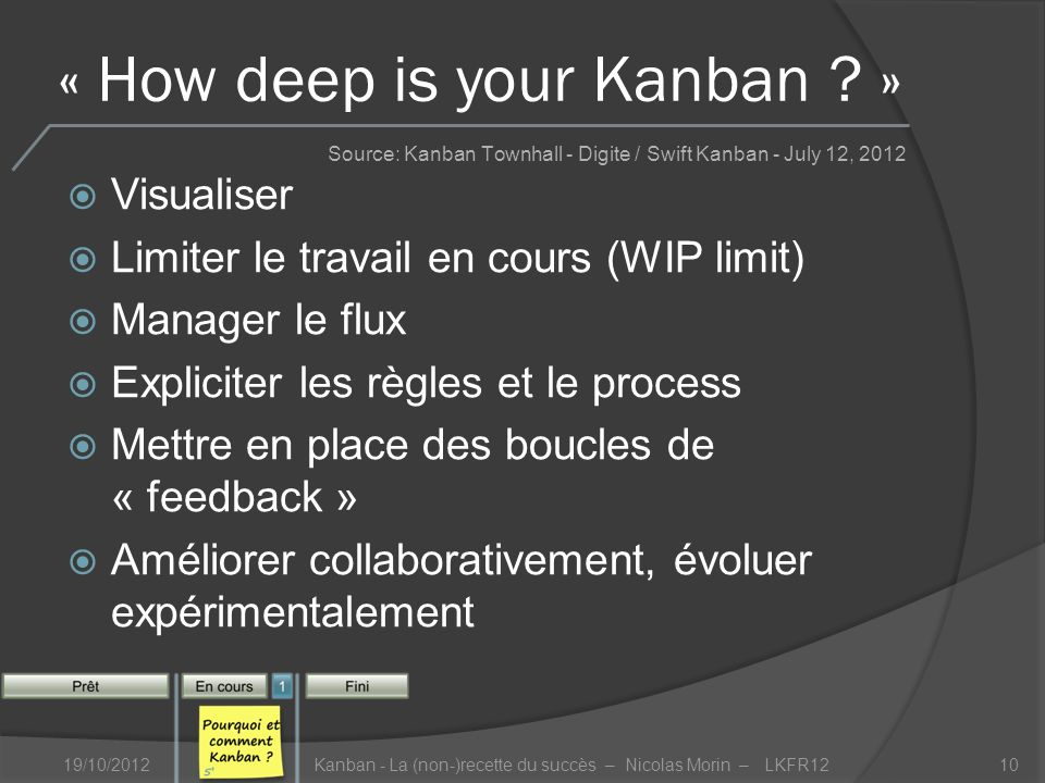 « How deep is your Kanban .
