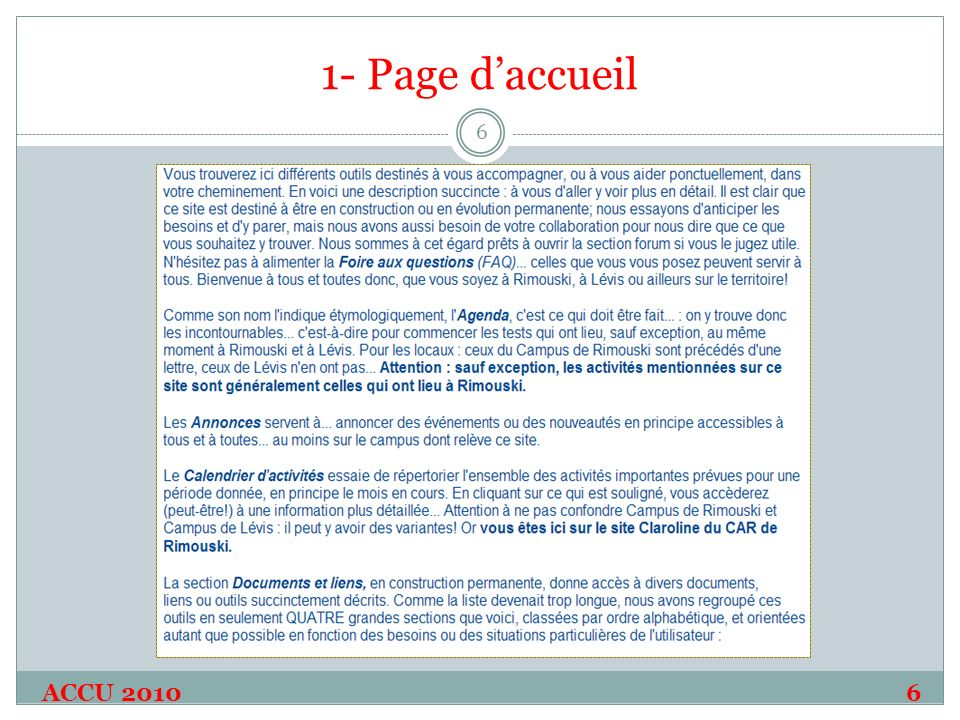 1- Page daccueil ACCU 20106 6