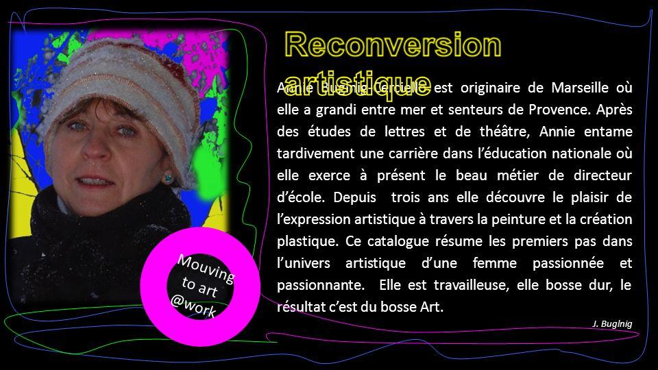 Annie Buglnig-Cerciello est originaire de Marseille où elle a grandi entre mer et senteurs de Provence.